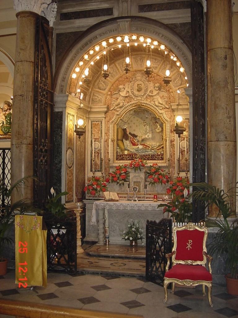 Altare S. filomena 25.05.03